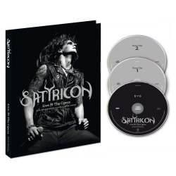 SATYRICON - Live at the Opera A5 Digi-2CD+DVD Symphonic Metal