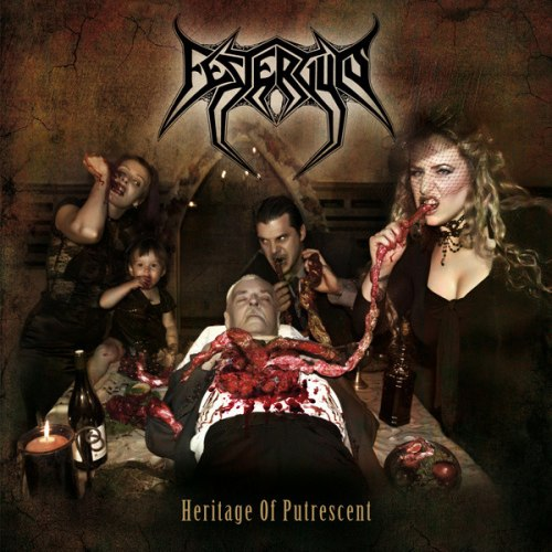 FESTERGUTS - Heritage of Putrescent CD Symphonic Death Metal