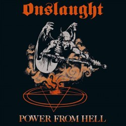 ONSLAUGHT - Power From Hell LP Thrash Heavy Metal