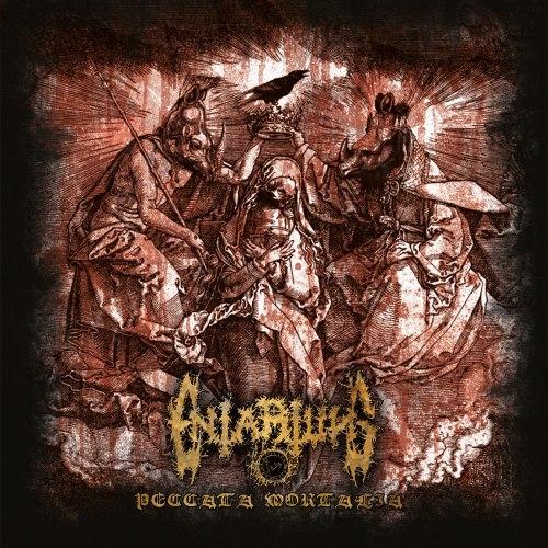ENTARTUNG - Peccata Mortalia CD Blackened Metal