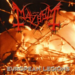 MAYHEM - European Legions CD Black Metal