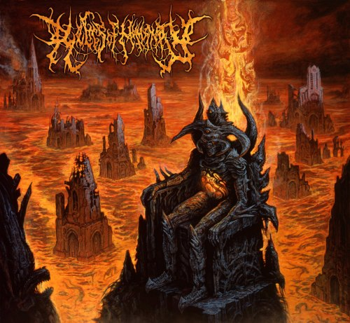 RELICS OF HUMANITY - Ominously Reigning Upon The Intangible Digi-CD Brutal Death Metal