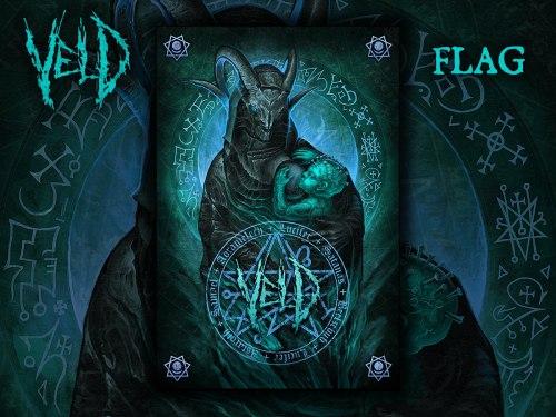 VELD - Flag 2 Флаг Death Metal