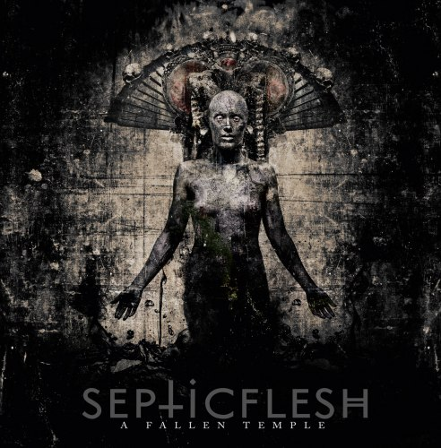 SEPTIC FLESH - A Fallen Temple CD Dark Metal