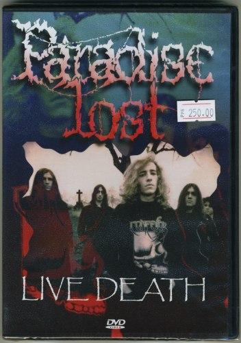 PARADISE LOST - Live Death DVD Death Doom Metal