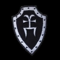 GODS TOWER - Shield Patch Нашивка Pagan Heavy Metal