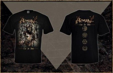 AMON - Liar in Wait - S Майка Death Metal