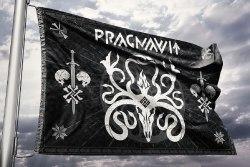 PRAGNAVIT - Flag Флаг Dark Ritual Folk Ambient