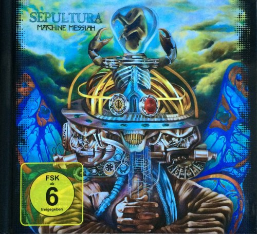 SEPULTURA - Machine Messiah (оригинал) Digi-CD+DVD Groove Metal