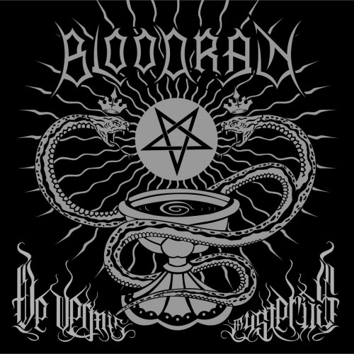 BLOODRAIN - Bloodrain - De Vermis Mysteriis CD Black Thrash Metal