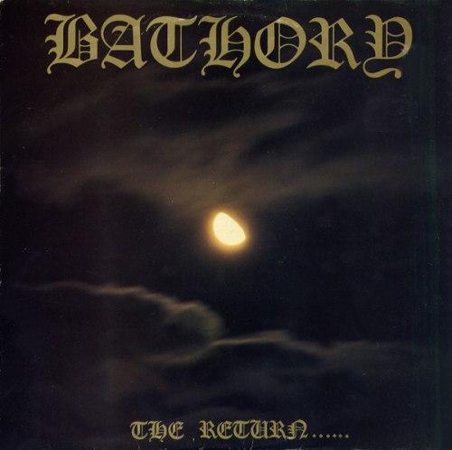 BATHORY - The Return CD Black Metal