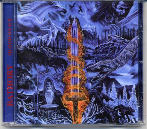 BATHORY - Blood on Ice CD Viking Metal