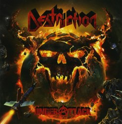 DESTRUCTION - Under Attack CD Thrash Metal