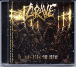 GRAVE - Back from the Grave CD Death Metal