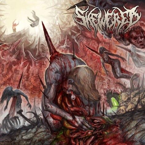 SKEWERED - Skewered CD Brutal Death Metal