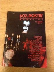 VOX MORTIIS #12 / 1996 Журнал Metal