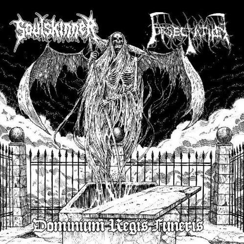 "OBSECRATION / SOULSKINNER - Dominium Regis Funeris 7""EP Death Metal"