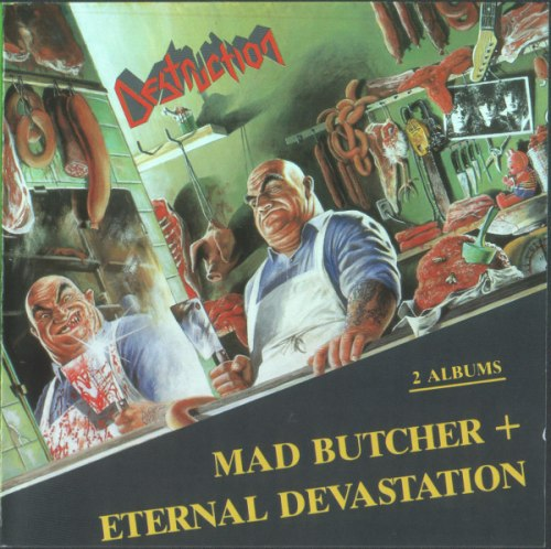 DESTRUCTION - Mad Butcher / Eternal Devastation CD Thrash Metal
