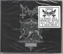 MAYHEM - A Season In Blasphemy 3CD Black Metal