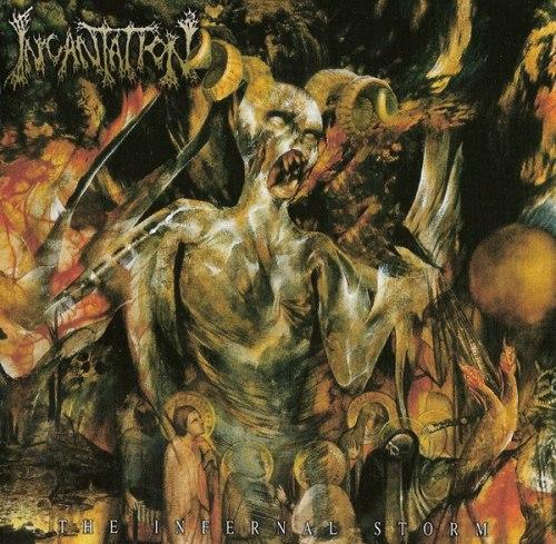 INCANTATION - The Infernal Storm CD Death Metal
