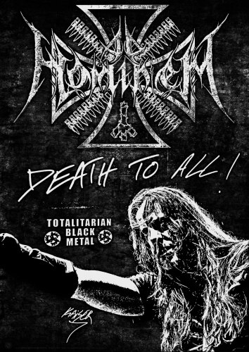 AD HOMINEM - Death to All! Нашивка Black Metal