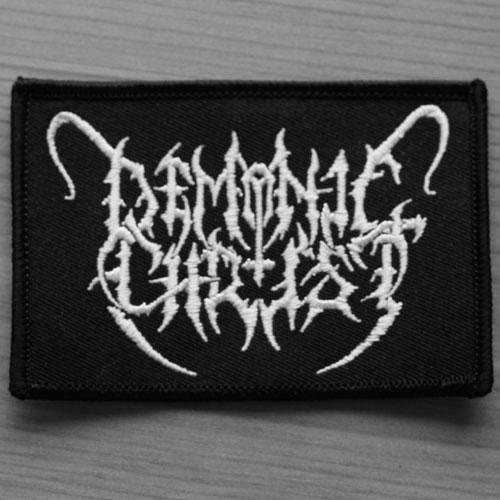 DEMONIC CHRIST - Logo Нашивка Blackened Death Metal