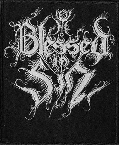 BLESSED IN SIN - Logo Нашивка Black Metal