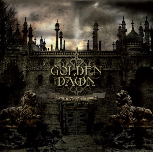 GOLDEN DAWN - Return to Provenance CD Dark Metal