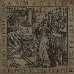 ARMAGEDDA - Ond Spiritism Djæfvvlens Skalder Anno Serpenti MMIV CD Black Metal