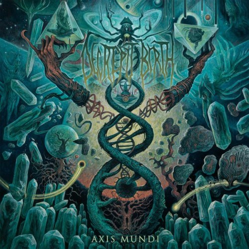 DECREPIT BIRTH - Axis Mundi Digi-CD Technical Death Metal