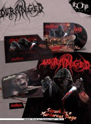 DERANGED - Struck by a Murderous Siege Digi-Box Brutal Death Metal
