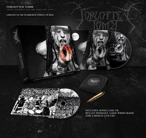 FORGOTTEN TOMB - Hurt Yourself And The Ones You Love Digi-Box Dark Metal