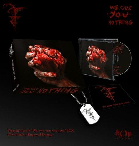 FORGOTTEN TOMB - We Owe You Nothing Digi-Box Dark Metal