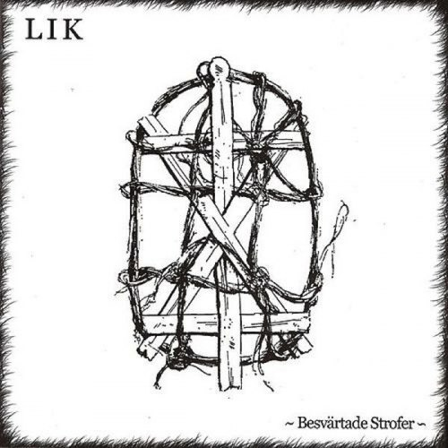LIK - Besvärtade Strofer CD Folk Metal