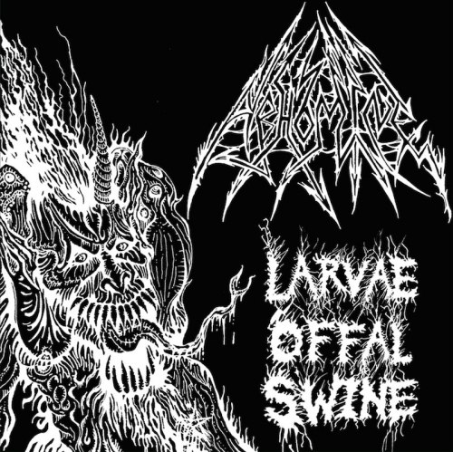 ABHOMINE - Larvae Offal Swine CD Black Death Metal