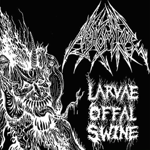 ABHOMINE - Larvae Offal Swine CD Black Death Metal