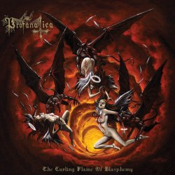PROFANATICA - The Curling Flame of Blasphemy CD Black Metal