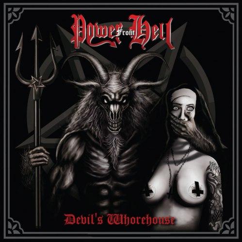 POWER FROM HELL - Devil's Whorehouse CD Black Thrash Metal