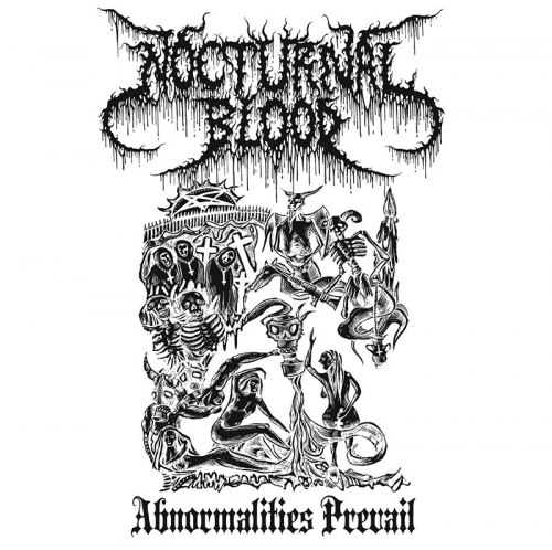 NOCTURNAL BLOOD - Abnormalities Prevail CD Black Metal