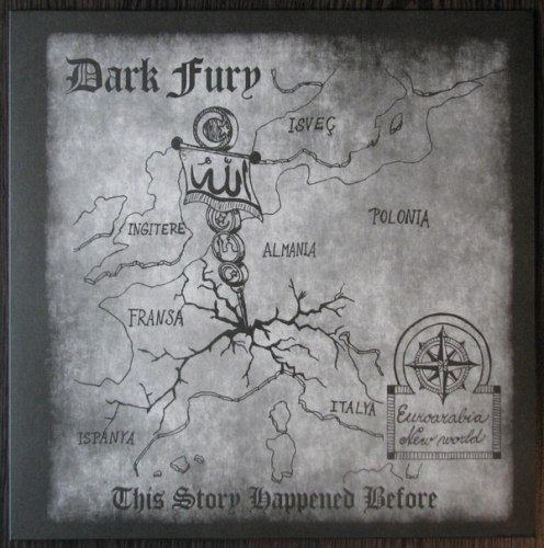 DARK FURY - This Story Happened Before LP NS Metal