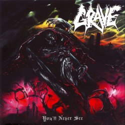 GRAVE - You'll Never See... (фирменный) CD Death Metal