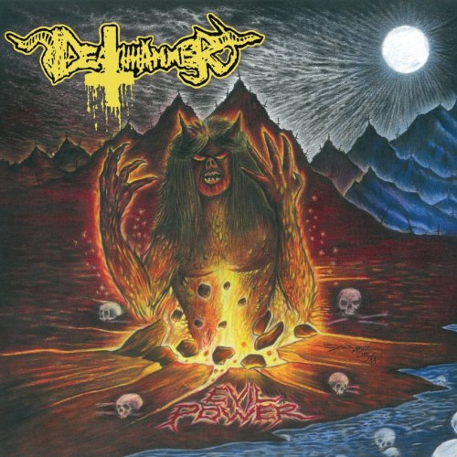 DEATHHAMMER - Evil Power LP Thrash Metal
