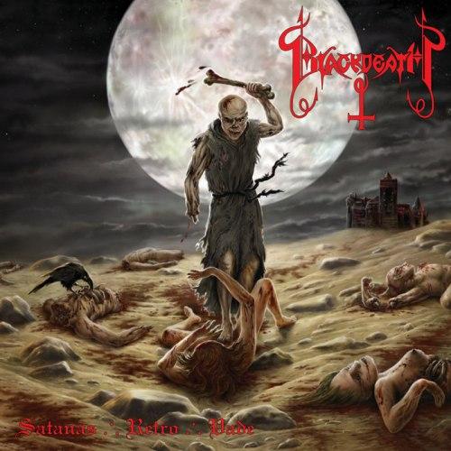 """BLACKDEATH - Satanas ∴ Retro ∴ Vade 7""""EP Black Metal"""