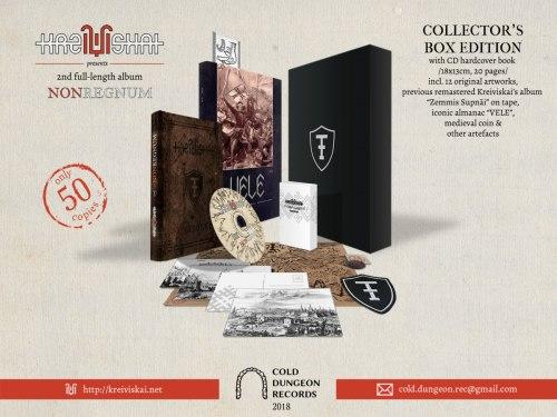 KREIVISKAI - Nonregnum Boxed Set Neofolk