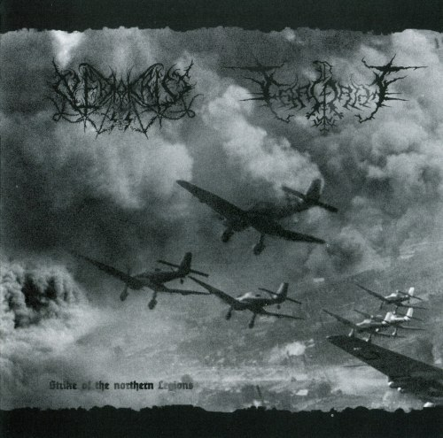 NEKROKRIST SS / FAAGRIM - Strike Of The Northern Legions CD Black Metal