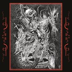 """PESTILENTIA / SICKRITES - From the temples below 7""""EP Black Metal"""