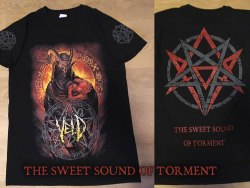 VELD - The Sweet Sound Of Torment - XL Майка Death Metal