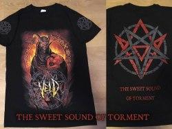 VELD - The Sweet Sound Of Torment - XL Майка Death Metal