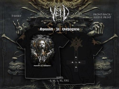 VELD - S.I.N. - L Майка Death Metal