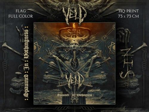 VELD - S.I.N. Flag 1 Флаг Death Metal